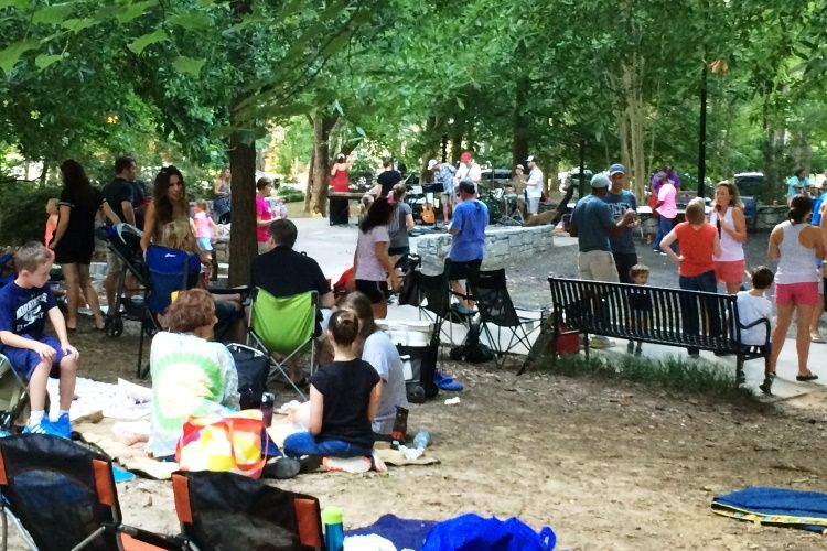 concerts in the park - mlpa